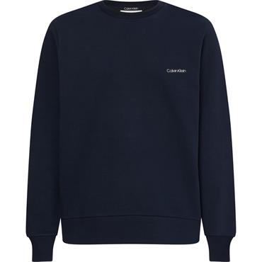 Calvin Klein Small Logo Sweat - Navy
