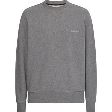 Calvin Klein Small Logo Sweat - Mid Grey