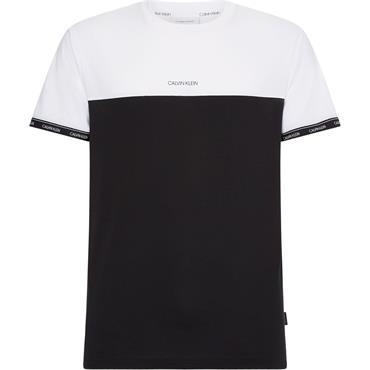 Calvin Klein - LOGO STRIPE CUFF T-S - Oxp