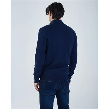 Diesel Colin 1/2 Zip - Eclipse Blue Marl