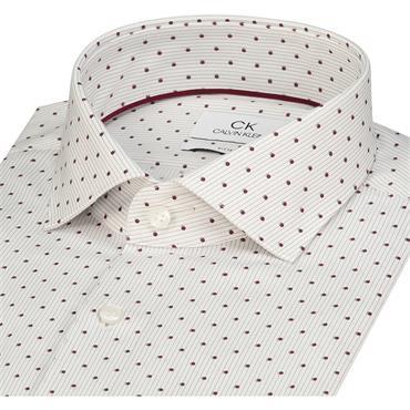 Printed Easy Iron Shirt - Red Print