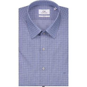 Printed Easy Iron Shirt - 400