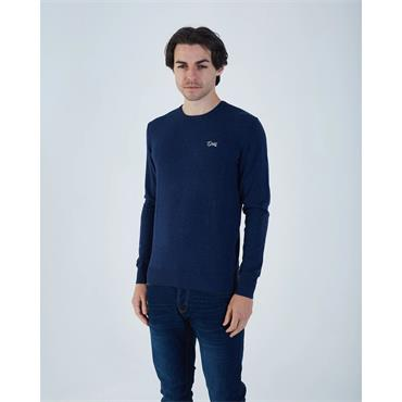 Diesel Dale Crew Neck - Eclipse Blue Marl