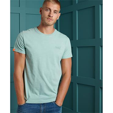 Superdry OL Vint Embroidery T - Fresh Mint Space Dye