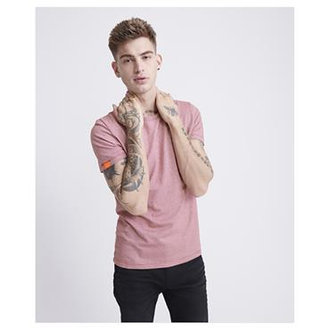 Superdry OL Vint Embroidery T - Red Twill