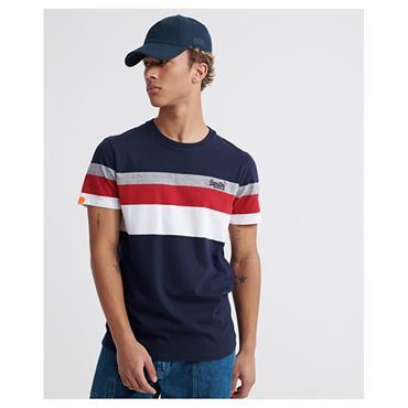 Superdry OL Classic YD Striped T - Rich Navy