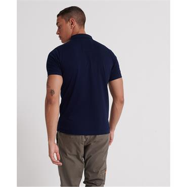 Classic Lite Micro Pique Polo - Midnight Navy