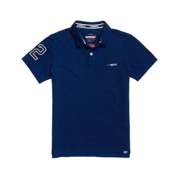 Classic Pique S/s Polo - Royal Blue Grit