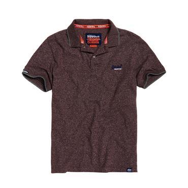 Orange Label Jersey Ss Polo - Buck Burgundy Feeder