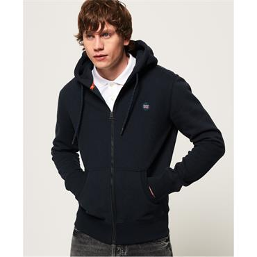 Collective Zip Hood - Darkest Navy