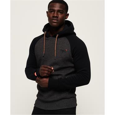 Orange Label Raglan Hood - Low Light Black Grit