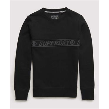 Surplus Goods Graphic Crew - Speckle Grit