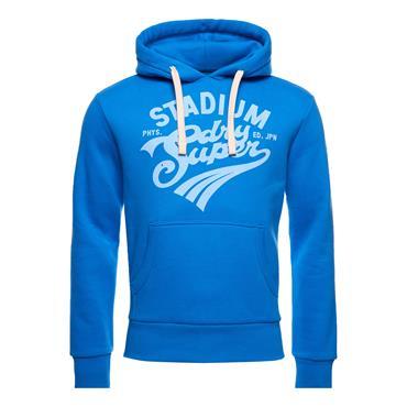 Superdry Overhead Collegiate Graphic Hoo - Neptune Blue