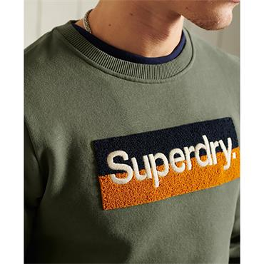 Superdry CL Workwear Sweat - Four leaf Clover