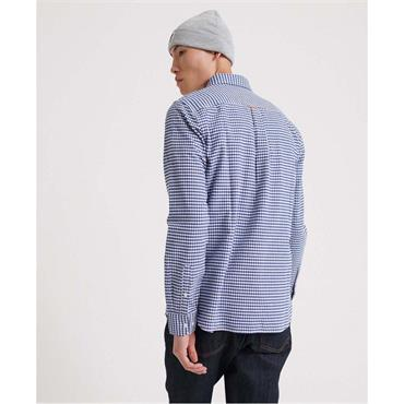 Classic University L/s Shirt - Blue Gingham
