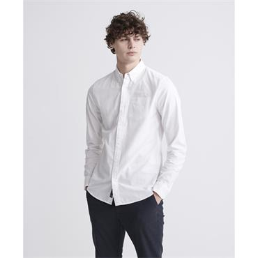 Superdry Classic University Oxford Shirt - Optic