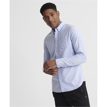 Superdry Classic University Oxford Shirt - Classic Blue
