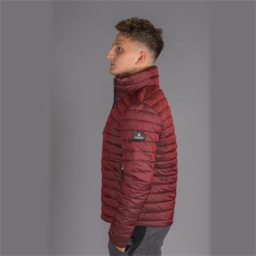 Double Zip Fuji - DARK RED