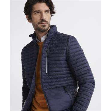 Superdry Packaway Non-Hooded Fuji Jacket - FRENCH NAVY