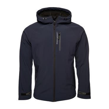 Superdry Hooded Softshell Jacket - Navy
