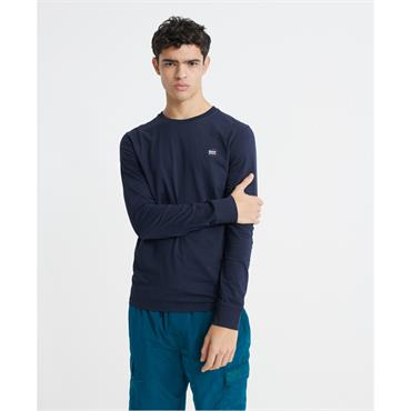 Superdry Collective Long Sleeve T - Rich Navy