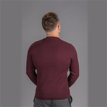 Academy Textured Crew - Deep Port