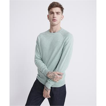 Superdry Cotton Crew - Fresh Mint Grit