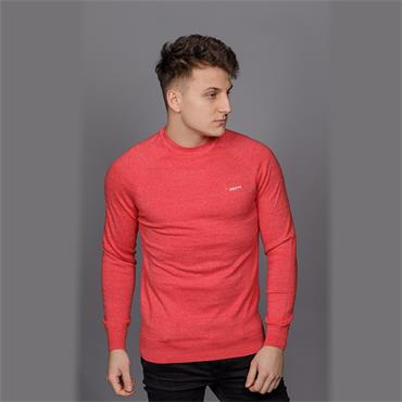 ORANGE LABEL COTTON CREW - Cannery Red GRIT