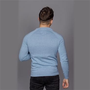 ORANGE LABEL COTTON CREW - Parched Blue GRIT