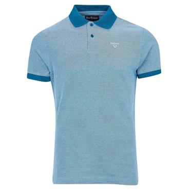 Barbour Sports Polo - Lyons Blue