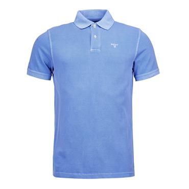 Barbour Washed Polo - Blue