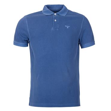 Barbour Washed Polo - Dark Blue