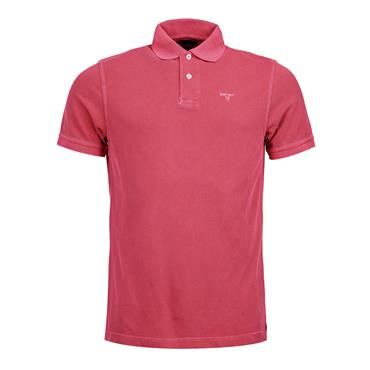Barbour Washed Polo - Pink