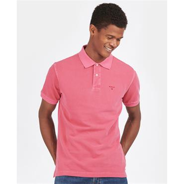 Barbour Washed Sports Polo - Pink
