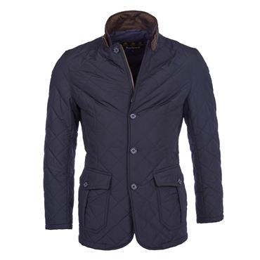 Barbour Lutz Quilted - Navy
