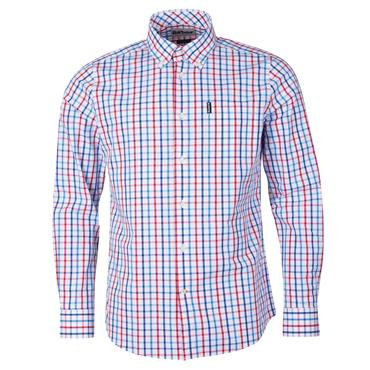 Barbour Tattersall Shirt - Red