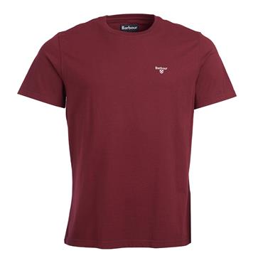 Barbour Sports Tee - Ruby