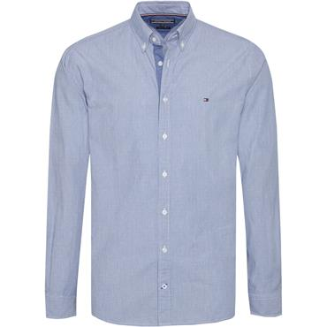 Engineered Striped Dobby Shirt - Estate Blue