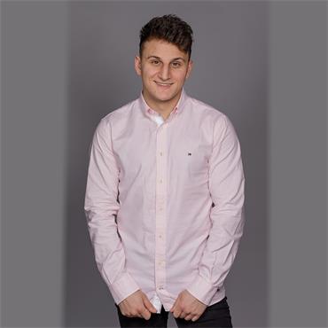 Organic Oxford Shirt - Pink