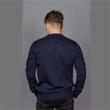 Icon Mini Badge Sweatshirt - MIDNIGHT