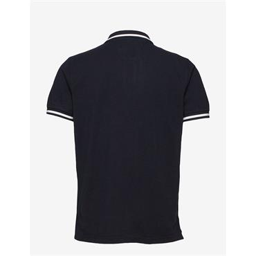 Tommy Hilfiger Tipped Polo - Navy