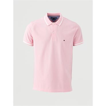 Tommy Hilfiger Tipped Polo - Pink