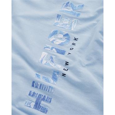 Hilfiger Applique Tee - 422 Chambray Blue