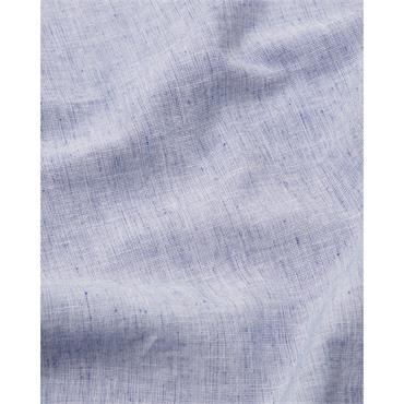 Cotton Linen Shirt S/s - 439 Blue Quartz