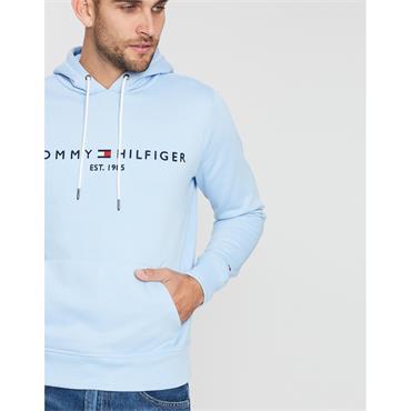 Tommy Hilfiger Logo Hood - BLUE