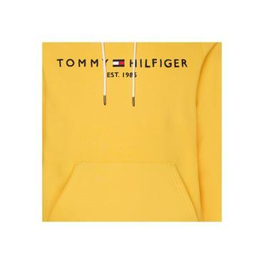 Tommy Hilfiger Logo Hood - YELLOW