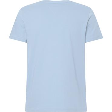 Tommy Hilfiger Logo Tee - Brezzy Blue