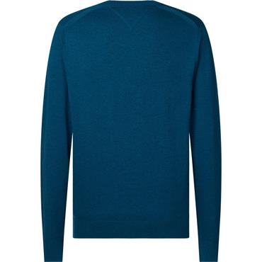 Tommy Hilfiger Luxury Touch V-Neck - Teal
