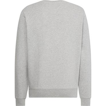 Tommy Hilfiger Embossed Sweat - Medium Grey Heather