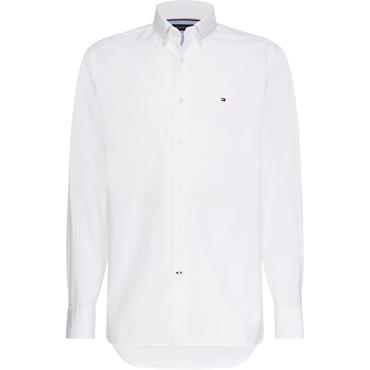 Tommy Hilfiger Organic Oxford Shirt - White